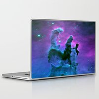 nebula Laptop & iPad Skins featuring Nebula Purple Blue Pink by 2sweet4words Designs