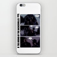 The Hound Of The Baskerv… iPhone & iPod Skin