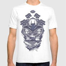 Mantra Ray White SMALL Mens Fitted Tee