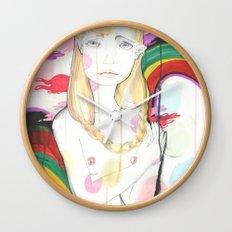 La fille de Siren Wall Clock