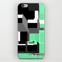 Digital Squares iPhone & iPod Skin