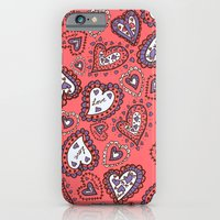 Love & heart iPhone 6 Slim Case