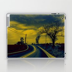 Rural road Laptop & iPad Skin