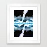 Two Worlds One Heart Framed Art Print