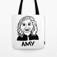 Amy Poehler Tote Bag