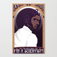 "Well, Then ""scientist�… Canvas Print"