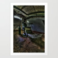 The real seat of horror Art Print