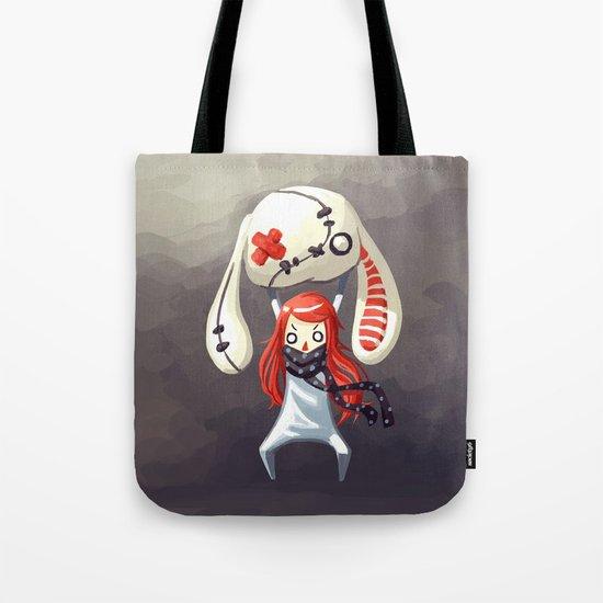 Bunny Plush Tote Bag