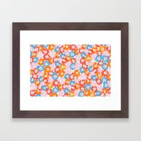 Morning Glory - Pink Mul… Framed Art Print