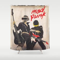 Mad Punk / A tribute to Daft Punk Shower Curtain