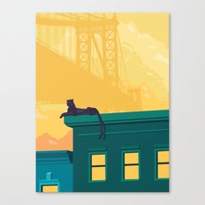 Urban Jaguar Canvas Print