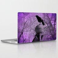 The Surreal Caw Laptop & iPad Skin