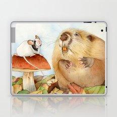 Mouse & Beaver Laptop & iPad Skin