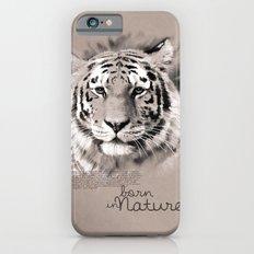 Tiger (BornInNature) Slim Case iPhone 6s
