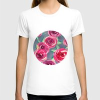 roses T-shirts featuring roses by Vita G