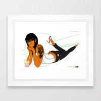 Pop 02 Framed Art Print