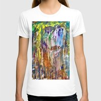 Crying Womens Fitted Tee White SMALL