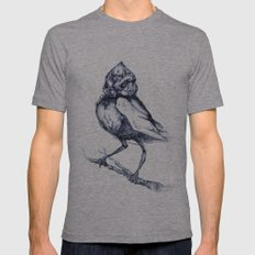 Do not kill the mockingbird Mens Fitted Tee Athletic Grey SMALL