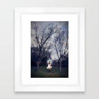 Uncomfortably Numb Framed Art Print