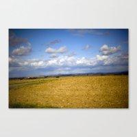 German Countryside Canvas Print
