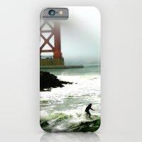 Surfing SF Bay iPhone 6 Slim Case