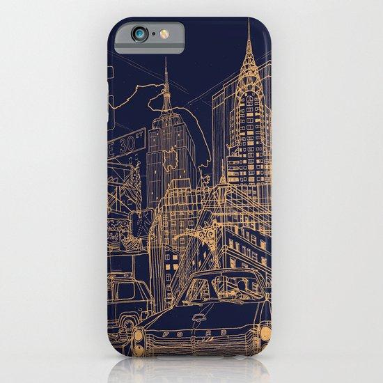 New York! Night iPhone & iPod Case
