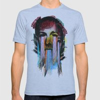 Howard Phillips Lovecraft  Mens Fitted Tee Athletic Blue SMALL
