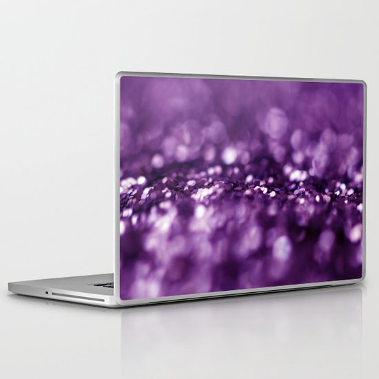 Dreaming in Purple Laptop & iPad Skin
