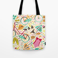 Seaside Cycle Tote Bag