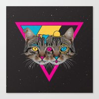 Our New Feline Overlords Canvas Print