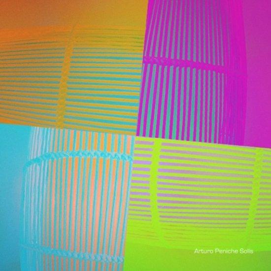 Di-simetrías Color Art Print