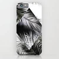 Palm Leaves 3 Geometry iPhone 6 Slim Case