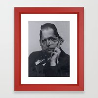 Cut Gropius 3 Framed Art Print