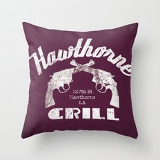 All right, everybody be cool, this is a robbery! Throw Pillow
