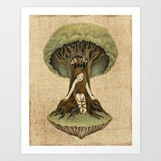 Refuge Art Print