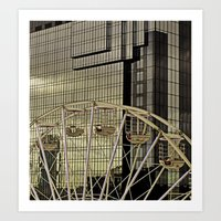 Wheel and the Hyatt Art Print