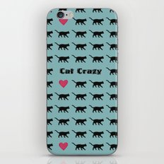 Cat Crazy iPhone & iPod Skin
