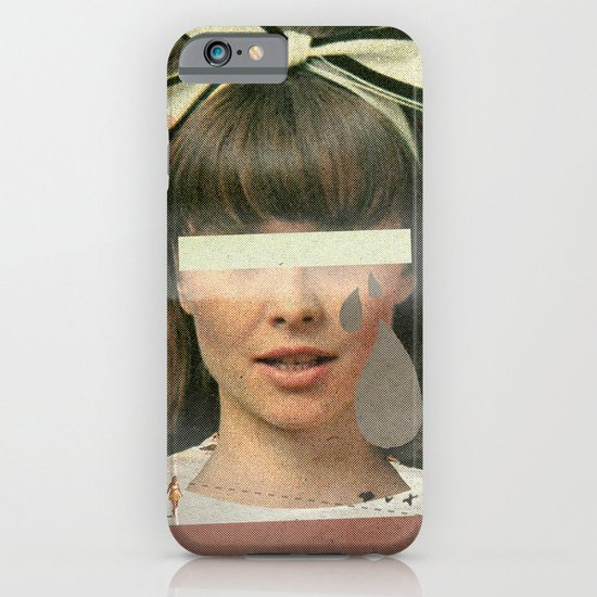 Tears In The Typing Pool | Collage iPhone & iPod Case