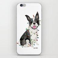 A Very Furry Christmas iPhone & iPod Skin
