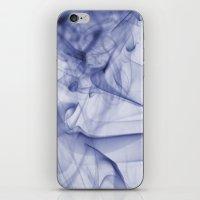 Blue Smoke iPhone & iPod Skin