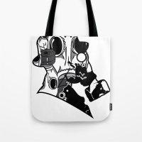 My Dexterous Shadow  B&W 1 of 4 Tote Bag