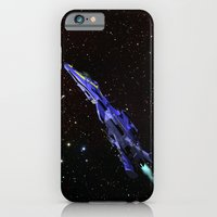 Fighter in Space iPhone 6 Slim Case