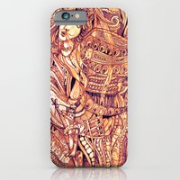 iPhone & iPod Case featuring Pythia in a Frenzy by JustinPotts