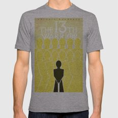 The 13th Warrior Mens Fitted Tee Athletic Grey SMALL