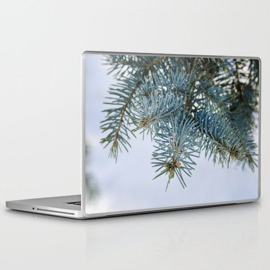 Blue Spruce Laptop & iPad Skin