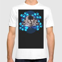 I Became Insane... Edgar… Mens Fitted Tee White SMALL