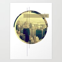 NY Skyline  Art Print