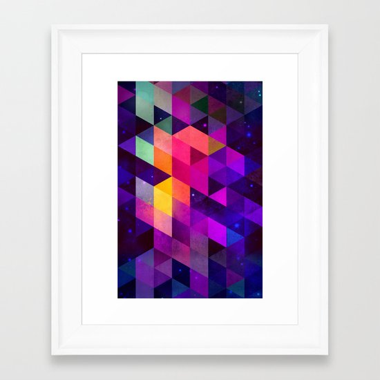 vyolyt Framed Art Print