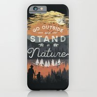 Go Outside and Stand in Nature iPhone 6 Slim Case