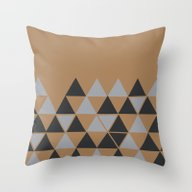 Silver On Gold Throw Pillow